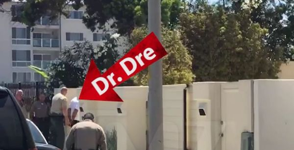 Dr. Dre Cuffed After Alleged Racial Incident Outside Of His Home
