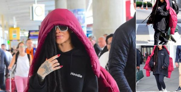 Rihanna Got New Dreadlocks