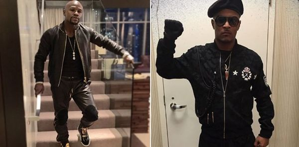 T.I. & Floyd Mayweather Back At It After Vid Of Money Dancing With Tiny Emerges