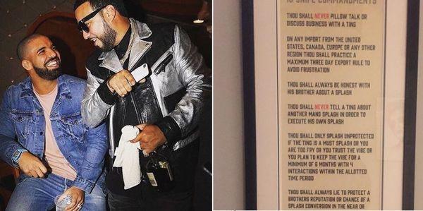 French Montana Shares Drake's 10 Snipe Commandments