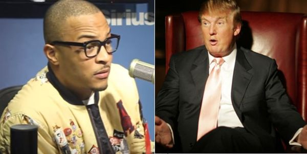 T.I. Writes An Open Letter To Donald Trump