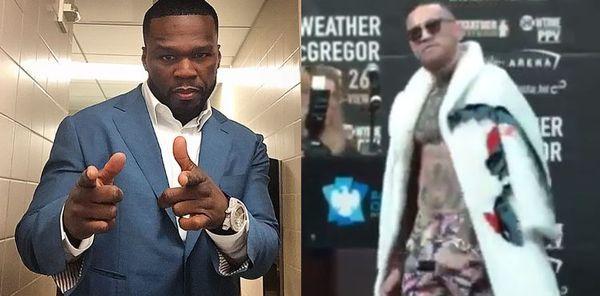 50 Cent Mocks Conor McGregor's Traumatic Brain Injury