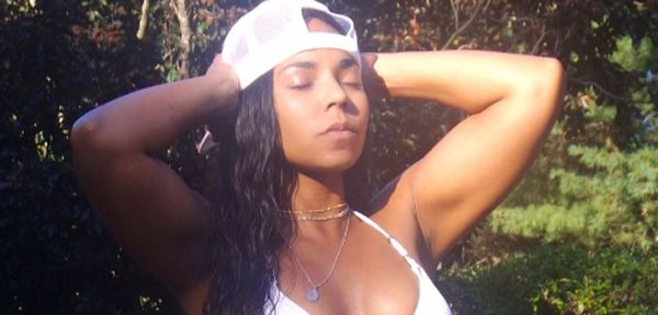 Ashanti Reminds Everyone Who She Is With Smoking Bikini Pics [PHOTOS]