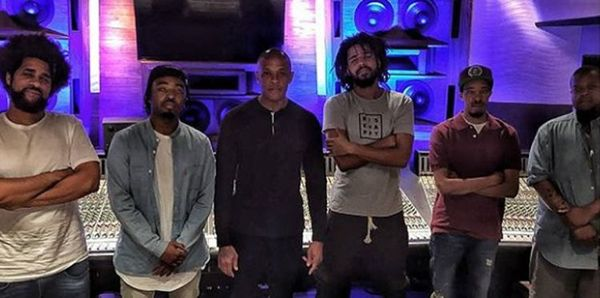 J. Cole & Dr. Dre Have Something Cooking