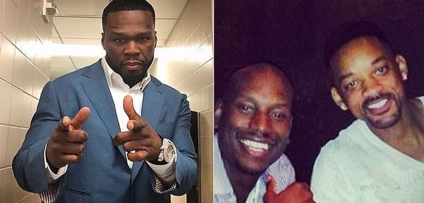 50 Cent Clowns Tyrese For Not Getting Five Million From Will & Jada Smith