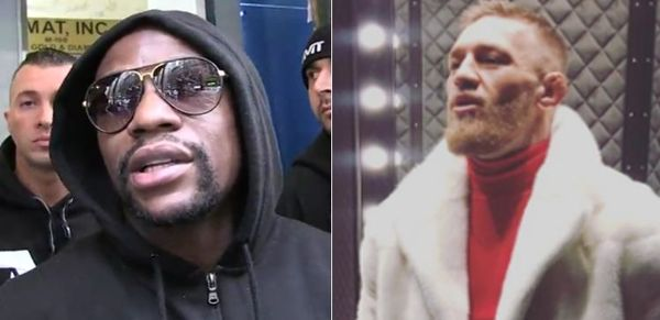 Conor McGregor Mocks Floyd Mayweather For Saying He Could Clean Up As MMA Fighter