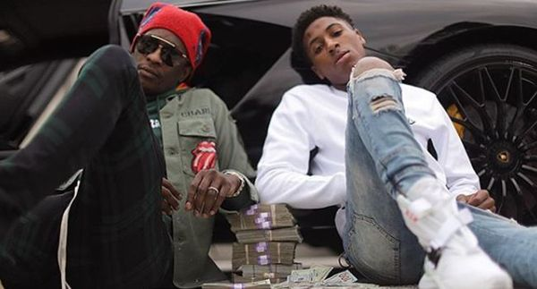 NBA YoungBoy Explains Why He Got A Chain of Young Thug Smoking A Blunt [VIDEO]