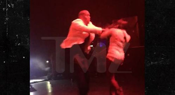 Tyrese Shoves A Lady Fan [VIDEO]