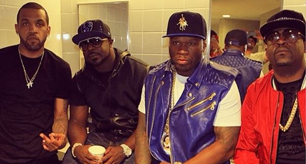 50 Cent Previews Track With Young Buck