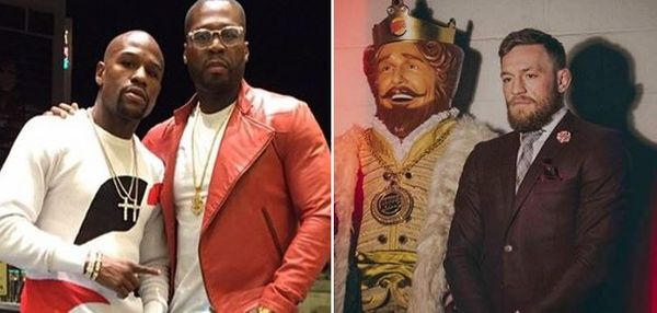 Conor McGregor Mocks 50 Cent & Floyd Mayweather In Forbes Richest Post
