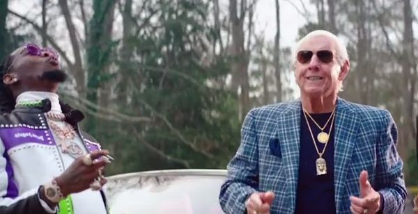 """Ric Flair Makes An Appearance With 21 Savage, Offset & Metro Boomin In """"Ric Flair Drip"""" Video"""