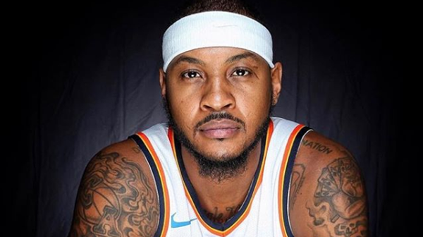 Carmelo Anthony Talks About First Game With The Portland Trailblazers
