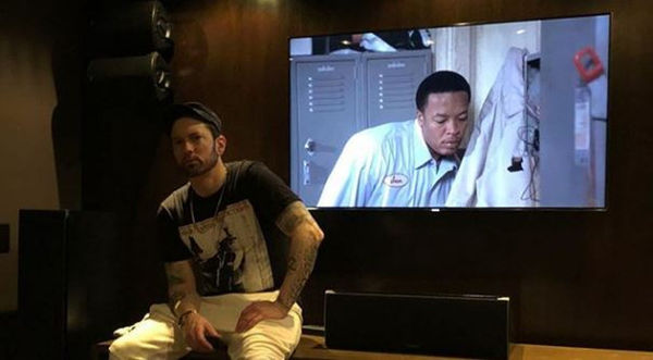 Eminem Back In The Studio With Dr. Dre
