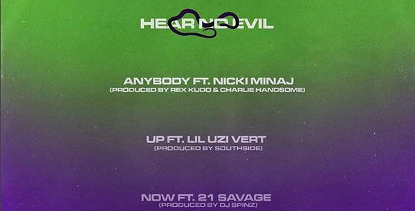 "Young Thug Releases ""Hear No Evil"" EP With Nicki Minaj, Lil Uzi Vert & 21 Savage"