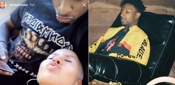21 Savage Posts Savagely On Instagram After Amber Rose Tries To Win Him Back