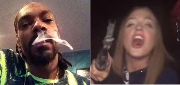 Snoop Dogg Responds To Woah Vicky Threat