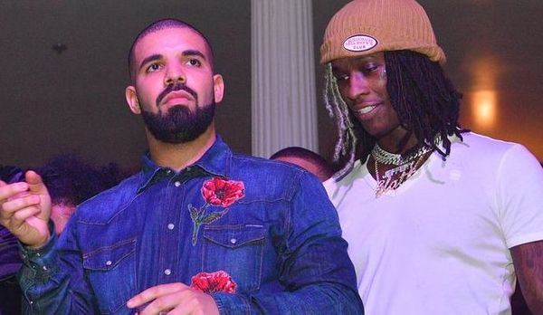 """Drake & Young Thug Link On A """"Lost Version"""" Of """"Signs"""""""