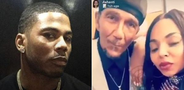Nelly's Dad Caught Creeping Around Ashanti Before Son Cut Him Off Financially