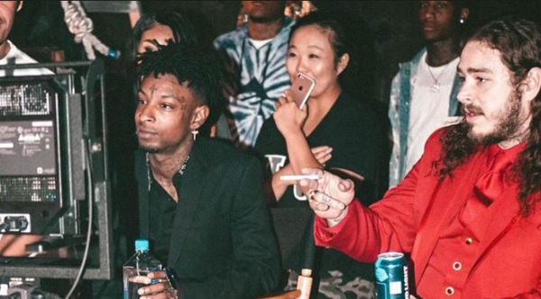 Watch 21 Savage Get Post Malone Rock Star Watch For His Birthday