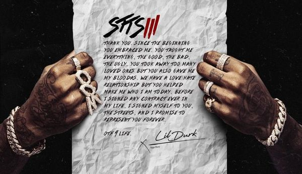 """Lil Durk Continues To Stay """"Signed To The Streets"""" With Third Installment"""