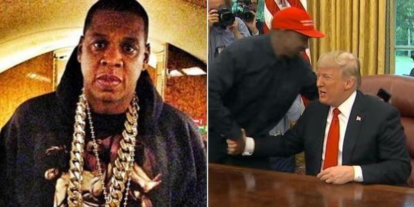 JAY-Z Takes Shots At Trump-Loving Kanye On Meek Mill's New 'Championships' Album