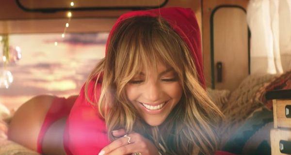 Jennifer Lopez Flaunts A Red Thong