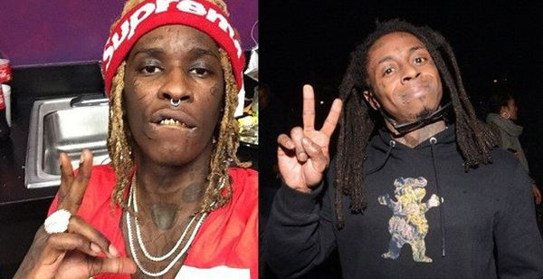 """Young Thug Says Lil Wayne Is Suing Him For """"Barter 7"""""""