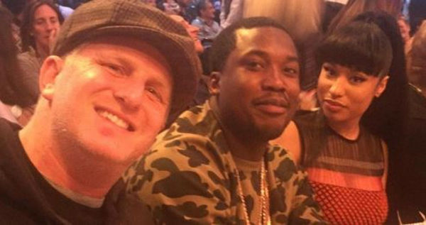 Nicki Minaj Gets Diddy-Cropped Right Out Of Meek Mill-Michael Rapaport Fight