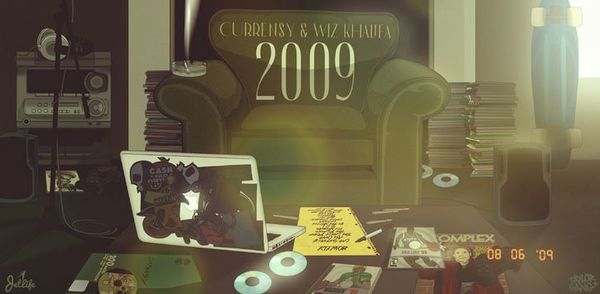 "Wiz Khalifa & Curren$y Finally Reunite Again On ""2009"" Project"