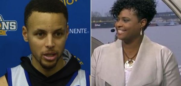 Draymond Green's Mom Mocks Stephen Curry After Loss