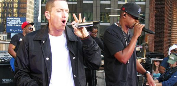 Eminem Ties Jay-Z For Billboard Chart Ranking