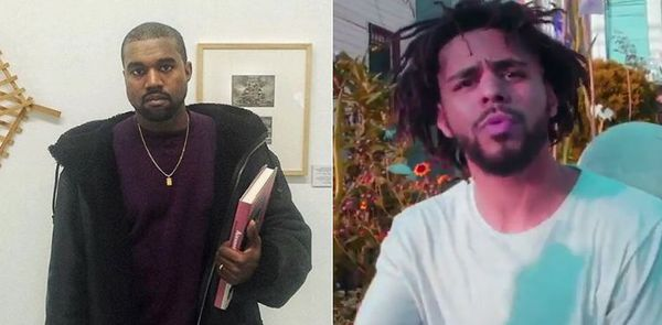"Kanye West Addressed J. Cole On Original Version Of Pusha T ""Daytona' Track"