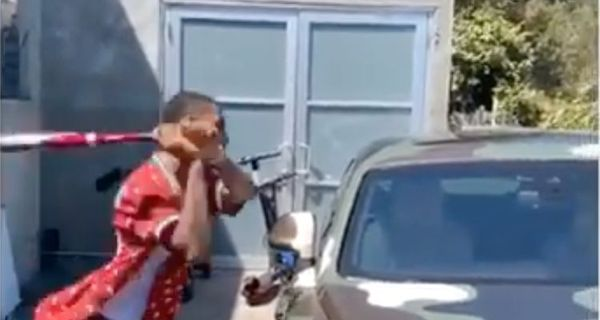 Key Glock Smashes Young Dolph's Car Windshield With A Baseball Bat