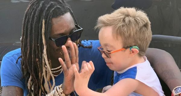 Young Thug Brings Sick Boy On Stage During Lollapalooza Performance