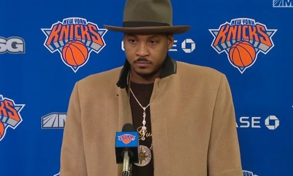 Carmelo Anthony's Trainer Continues To Say Melo Belongs in the NBA