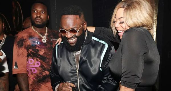 Wendy Williams Parties With Meek Mill & Rick Ross