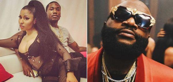 Nicki Minaj Goes In On Rick Ross Over Meek Mill & 50 Cent