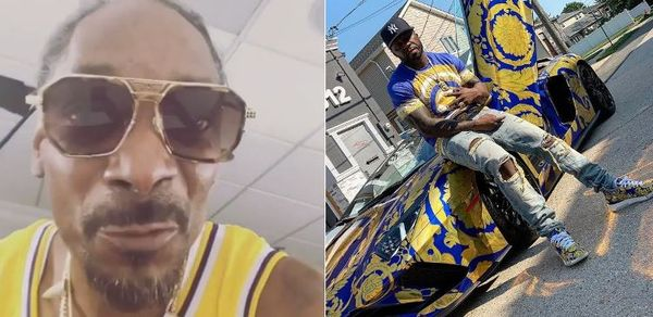 Snoop Dogg Stole 50 Cent's Versace Lamborghini