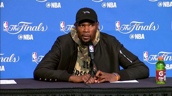 Kevin Durant Tests Positive for the Coronavirus
