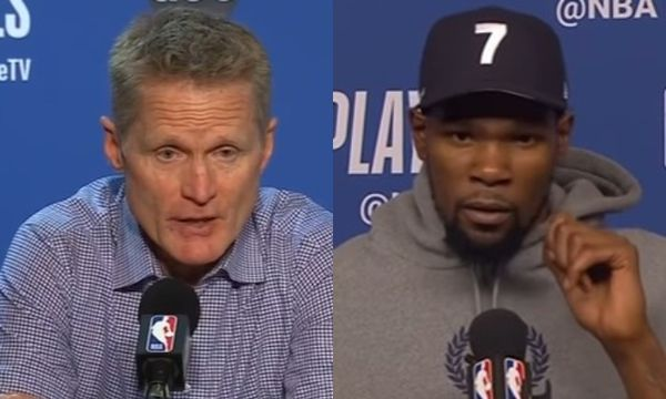 Steve Kerr Responds To Kevin Durant's Criticism of His Coaching