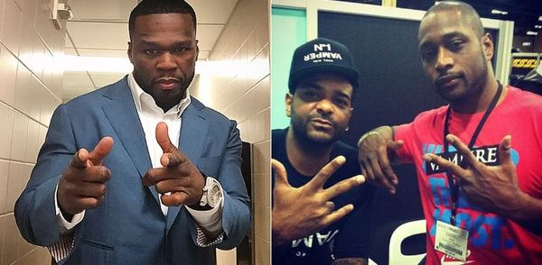 50 Cent Responds To Jim Jones & Freekey Zekey's Threats