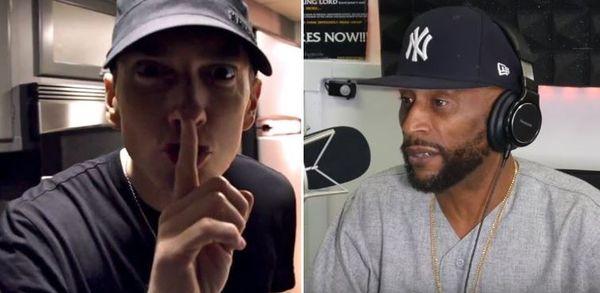 Eminem Blasts Lord Jamar From Stage