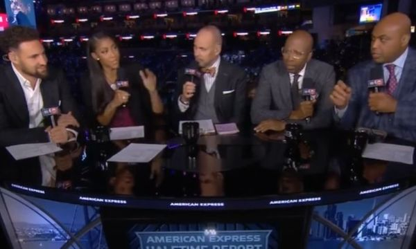 Watch Charles Barkley Diss The Golden State Warriors To Klay Thompson's Face
