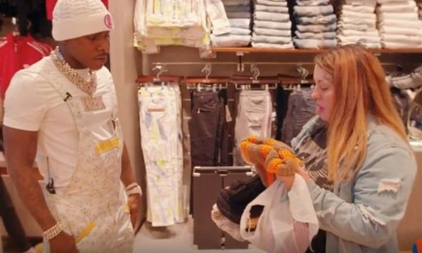 Watch DaBaby Give a Homeless Mom A Bunch of Cash