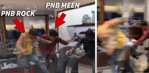Watch PnB Rock & His Goons Viciously Attack Men In Neiman Marcus