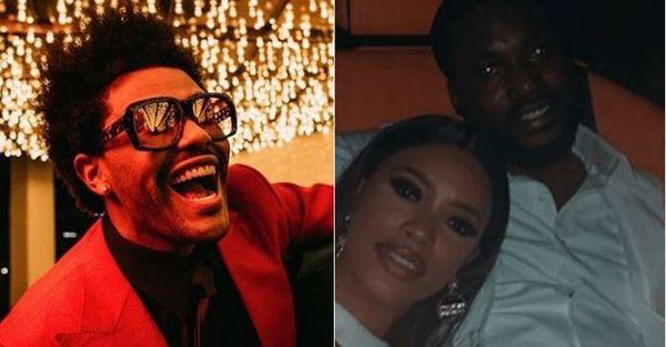Meek Mill's GF Milan Harris Chimes In After Meek's Captions The Weeknd's 'Heartless'