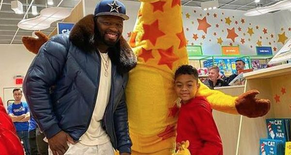 """50 Cent Rents Out Toys """"R"""" Us For His Son"""