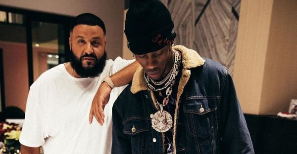 Check Out Travis Scott Without The Braids Courtesy Of DJ Khaled