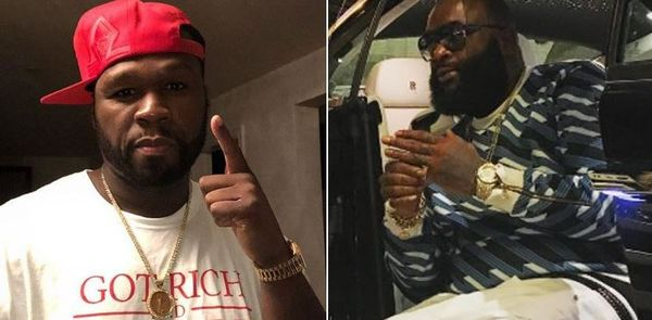 50 Cent To Chase Rick Ross Down To Georgia In Game Of Legal Cat & Mouse