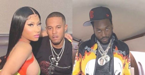 Nicki Minaj Goes Off On Meek Mill After Latest Shots Against Her Husband Kenny Petty